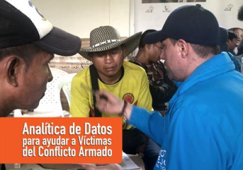 El Distrito implementa Analítica de Datos para optimizar la entrega de ayudas humanitarias a las Víctimas del Conflicto Armado
