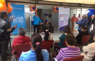 Inauguración portal interactivo en la localidad de Ciudad Bolívar