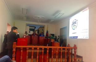 Ediles y líderes de las localidades de Candelaria y Usaquén