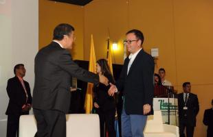 Entrega premio Bogotá Abierta